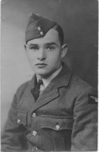Sergeant Alfred John Le Poidevin (23 jaar)